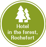 Hotel in the forest, Rochefort